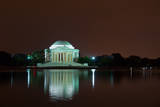 Jefferson Memorial at Night  Washington DC