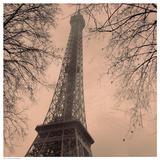 Eiffel in Warm Sky