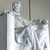Abraham Lincoln Statue  Lincoln Memorial  Washington Dc  USA