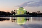 Washington Dc  Thomas Jefferson Memorial at Sunrise - United States