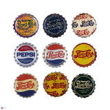 Pepsi Bottle Caps Collage