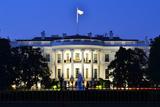 The White House at Night - Washington Dc  United States