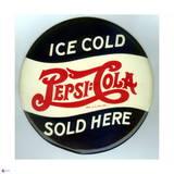 Pepsi - Vintage 1940 Grocery Store Circular Sign