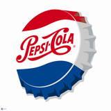 Pepsi-Cola Botle Cap Logo