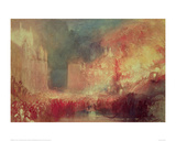 The Burning of the Houses of Parliament  1839
