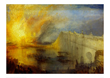 The Burning of the Houses of Parliament (2) 1835