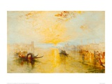San Benedetto  View of Fusina  Italy  1843