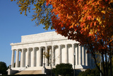 Lincoln Memorial in Autumn