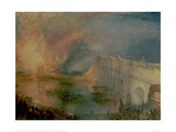 The Burning of the Houses of Parliament (1) 1835