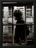 The One and Only Bob Dylan Walking Past a Shop Window in London  1966