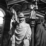Statue of Moses  for the Well of Moses  Located in the Cloister of the Charterhouse of Champmol