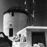 A Windmill in Greece