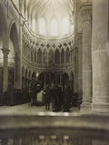 Soldiers in the Church of Premariacco During the First World War