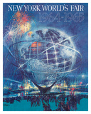 New York World's Fair 1964-1965 - Unisphere Earth Model