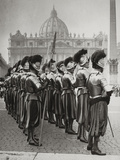 Swiss Guards at San Pietro  Vatican