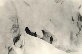 Snow Caves on Monte Nero During World War I