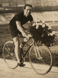 Portrait of the Bicycle Rider Ghilardi
