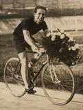 Portrait of the Bicycle Rider Ghilardi
