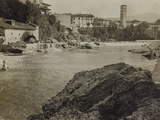 The River Natisone in Cividale During the First World War