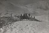 First World War: Group of Soldiers in the High Mountains in Cadore