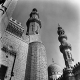 Detail of the Minarets of the Madrasa of Hasan in the Citadel of Cairo