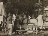 WWI: Arrival of the Wounded at Villa Brazzà