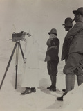 Pictures of War II: Red Cross and Italian Soldiers on Belvedere Pocol