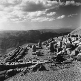 Terraced Summit of Nemrut Dagiremains with Remains of the Colossal Statues