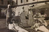 Pictures of War II: Red Cross Nurses Treating Wounded Soldiers with the Sun Therapy  Vicenza