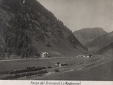 First World War: A View of the Brenner Pass (La Madonnina)