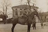Campagna Di Guerra 1915-1916-1917-1918: Soldier on Horseback