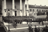 Funeral in Udine of General Chinotto  Italian World War I Hero