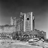 Ruins of the Castle of Mount Aragon in Spain