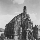 The Church of Our Lady in Nuremberg