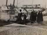 Pictures of War II: Red Cross Nurses in a Port