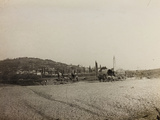 WWI: View of the City of Medea from the Riverbed Indrio