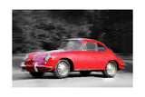 1963 Porsche 356 C Watercolor
