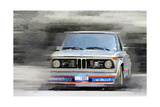 1974 BMW 2002 Turbo Watercolor