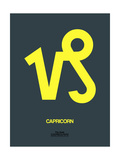 Capricorn Zodiac Sign Yellow