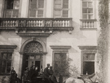 WWI: the Comte at Villa Brazzà  Home to 17 of the Hospital of War in Soleschiano Manzano