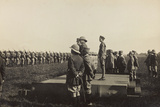 First World War: His Majesty the King Vittorio Emanuele III of Savoy on Stage
