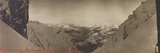 Free State of Verhovac-July 1916: View of the Snow-Capped Mountain Ranges from Forca Nuviernulis