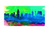 San Antonio City Skyline