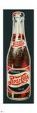 Pepsi - Vintage 1930s Bottle Cutout Sign