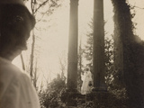 WWI: Visit the Marquise in the Role of Red Cross Nurse to the Ruins of a Temple