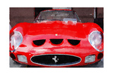 1962 Ferrari 250 GTO Front Watercolor