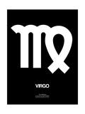 Virgo Zodiac Sign White