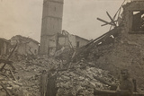 World War I: The Historical Center of Mariano Comense Destroyed by Bombing