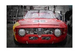 1967 Alfa Romeo GTV Watercolor