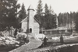 World War I: Church of a Austrian Small Hospital in the Rosato Field